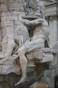 Redan de gamla romarna ville inte vara med på bild ibland.