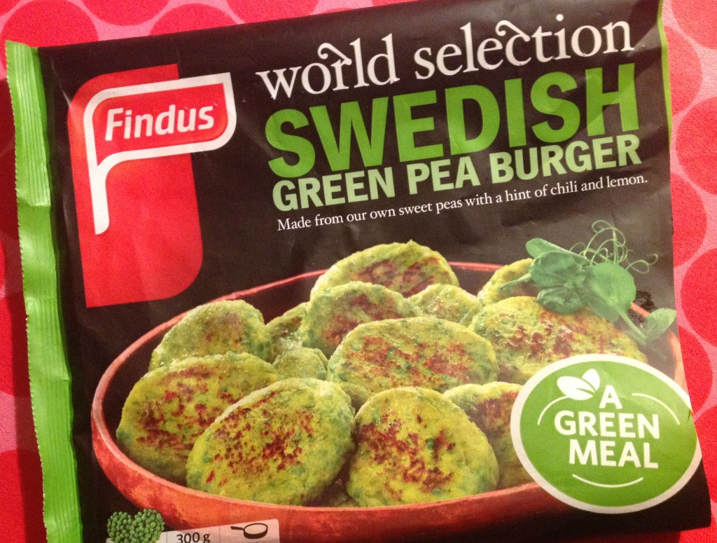 Findus green peas